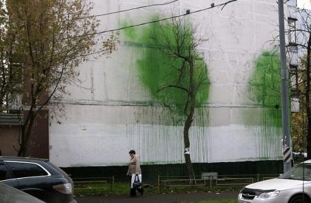 אמן רחוב רוסי  בשם 0331C