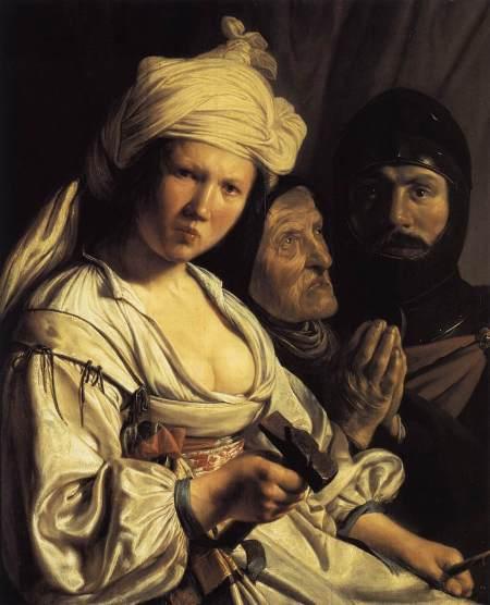 ישמור אותי האל, אישה עם פטיש . Jan de Bray