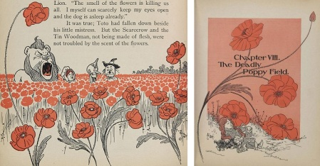 poppies . William Wallace Denslow